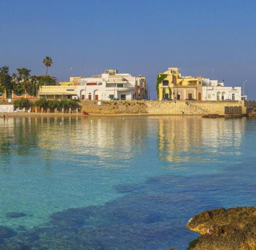 Italy: Santa Maria al Bagno is a magical town with art nouveau villas and a bathing bay