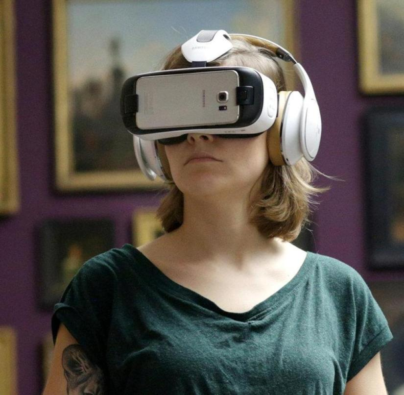 Digital journey through time: The Städel Museum in Frankfurt offers a virtual reality tour through the reconstructed museum rooms from 1878