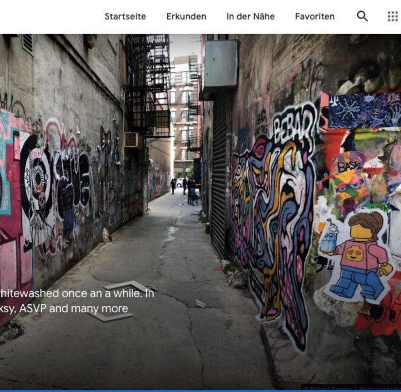 New York celebrates its street art