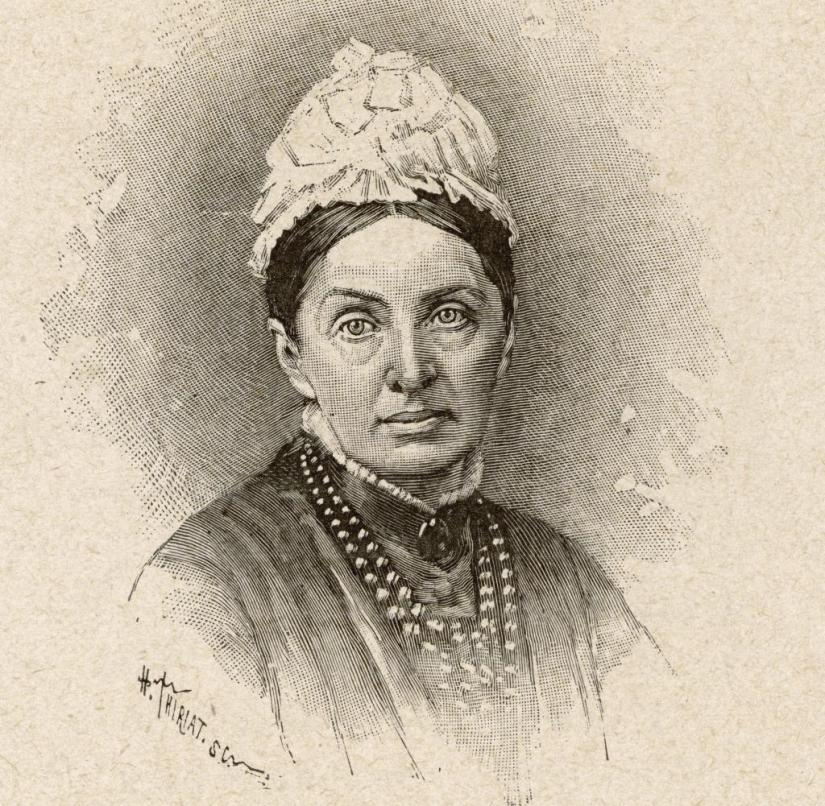 When she was out she was fine: Isabella Lucy Bird