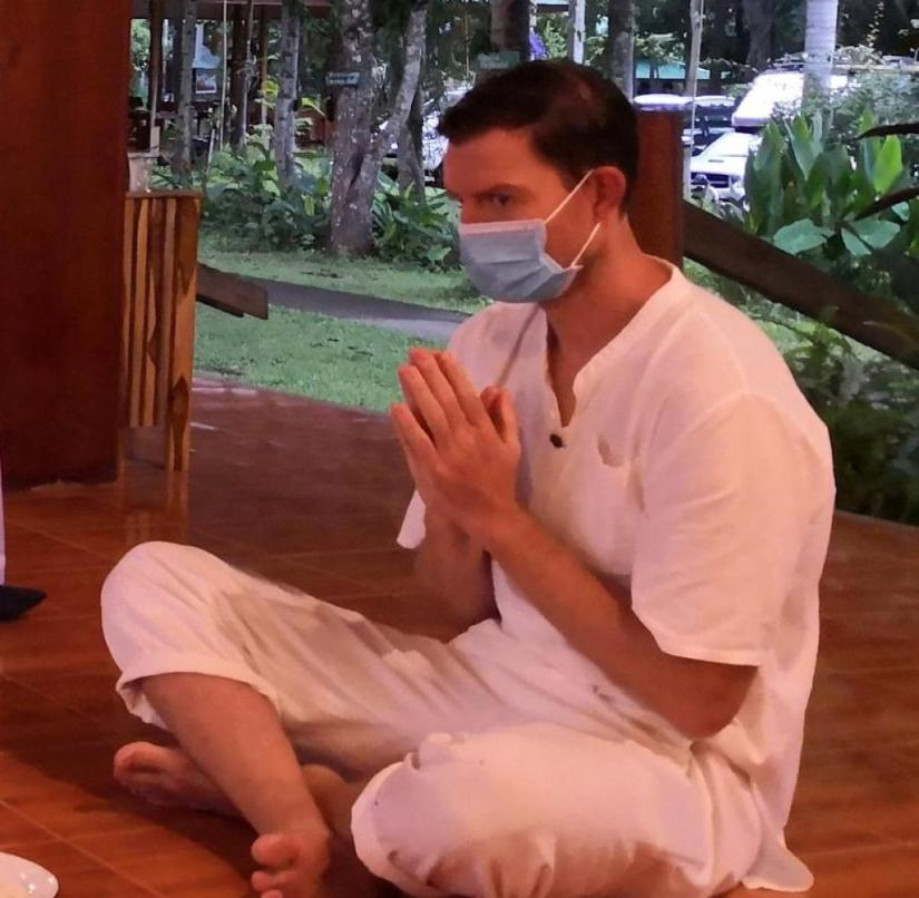 Time out: Meditation in the Wat Pa Tam Wua monastery in Thailand