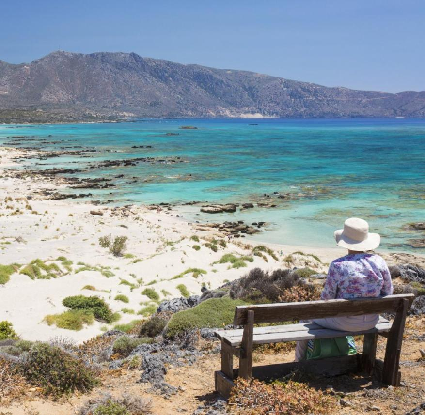 Greece: This wonderful beach is located on the south coast of the small island Elafonissi, which is located in the southwest of Crete.  A nature trail leads through the nature reserve of the island