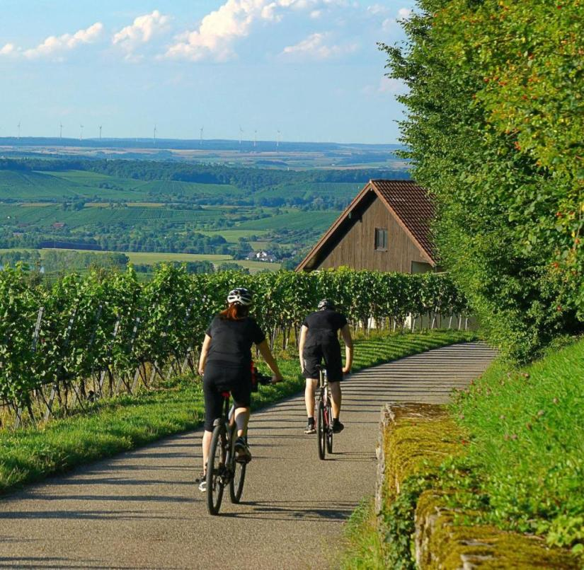 Baden-Württemberg: The Weinsberger Valley is not only attractive for hikers but also for cyclists