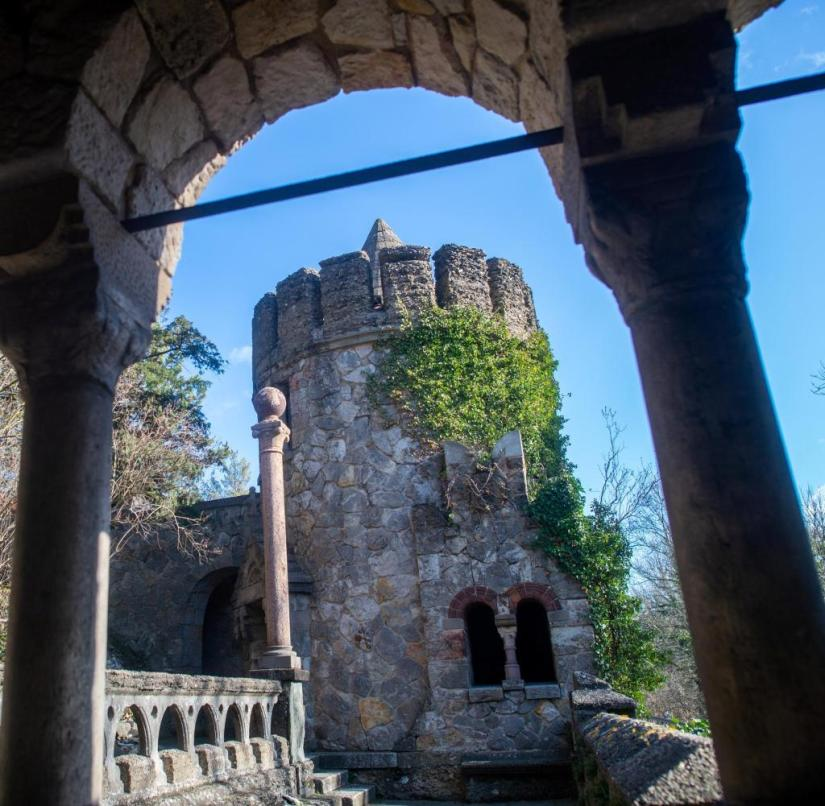 The Roseburg in Quedlinburg was built in 1907 based on a medieval castle