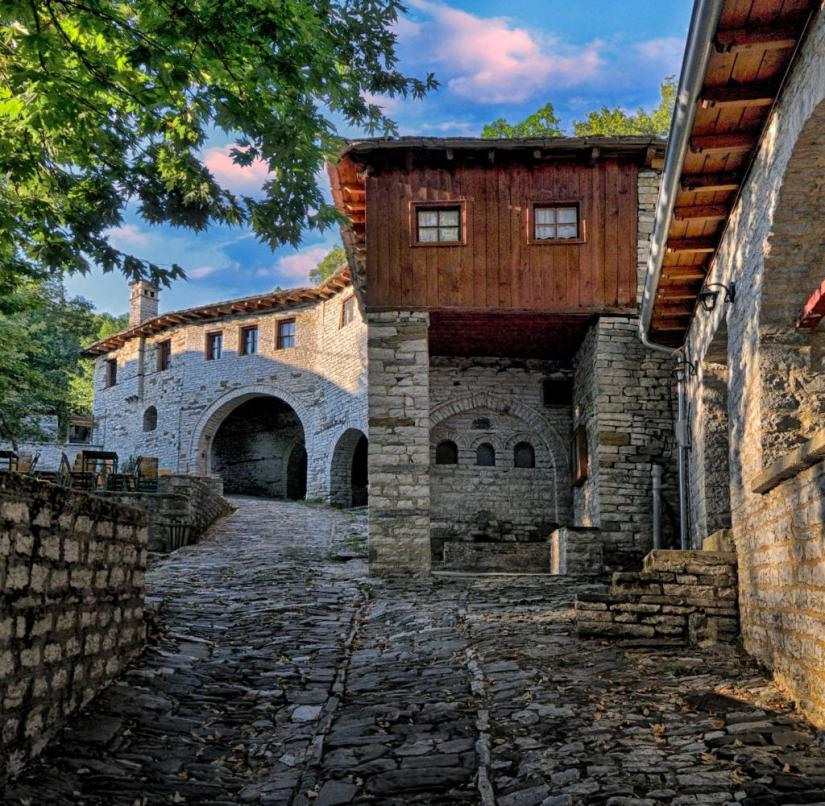 Greece: The remote villages of the Zagorochoria, or Zagori for short, are located in the mountainous north-west of Epirus