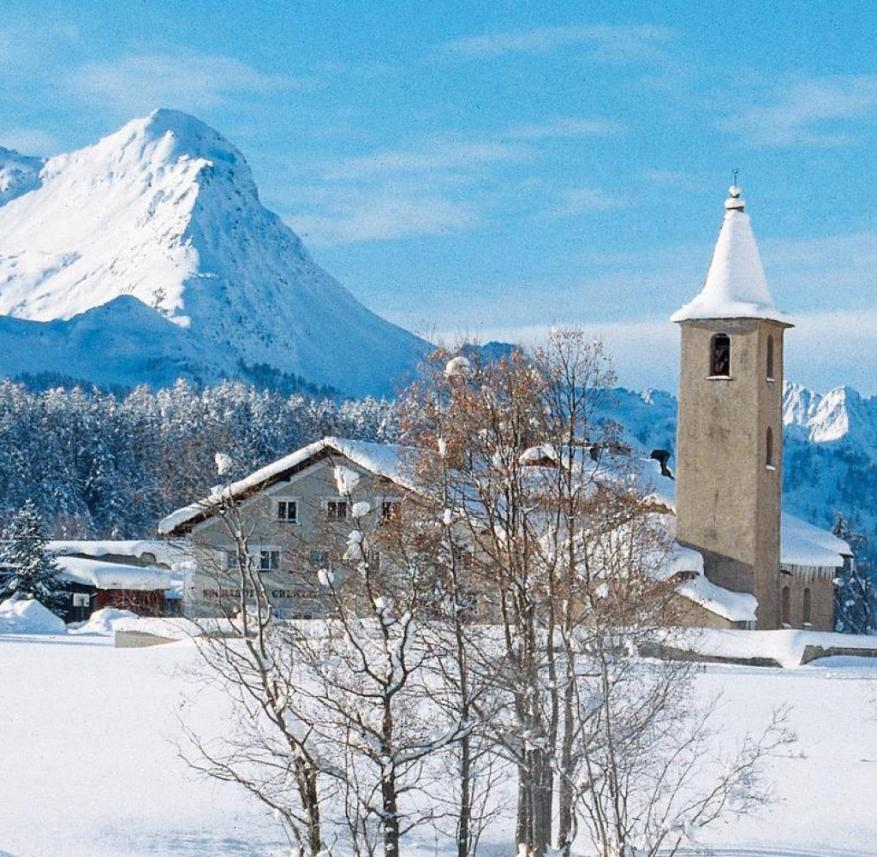 Switzerland: Sils in the Engadine is only a few kilometers away from St. Moritz