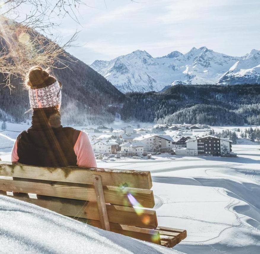 Austria: A quiet place with a view of Niederthai in the Horlachtal