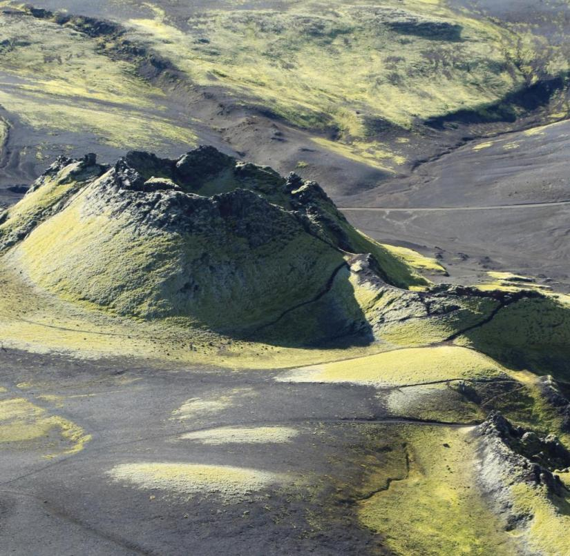 How do you survive in such a landscape?  The Icelandic Arthúr Björgvin Bollason provides answers to this question