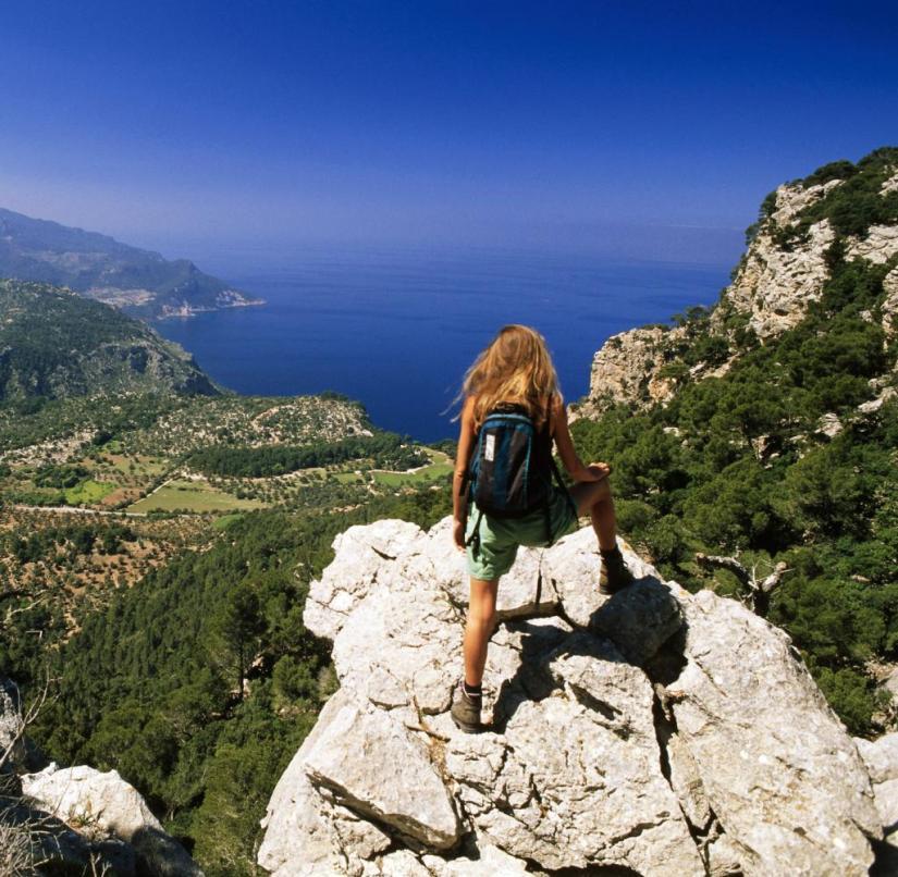 Serra de Tramuntana in Mallorca, Spain