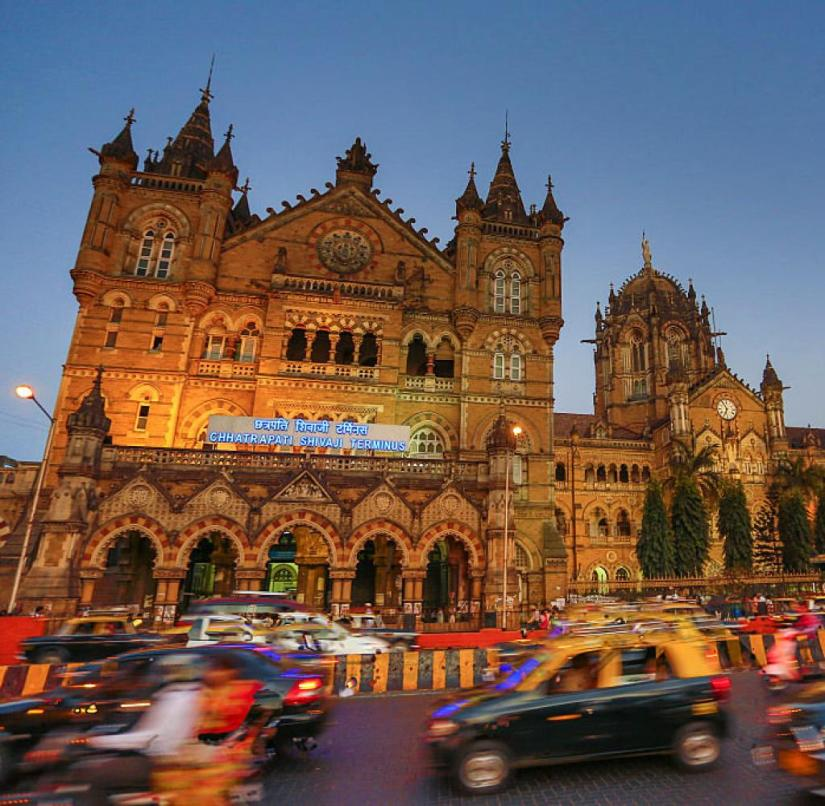 India: Mumbai Central Station is one of the most splendid legacies of British colonial rule