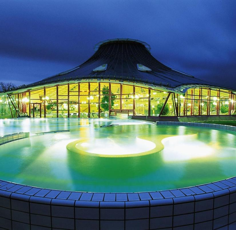 Germany: The Ahr thermal baths can be found in Bad Neuenahr