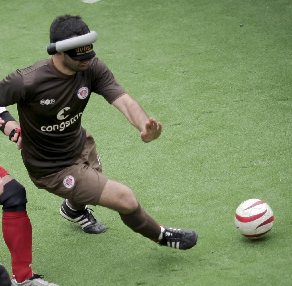Blind football league