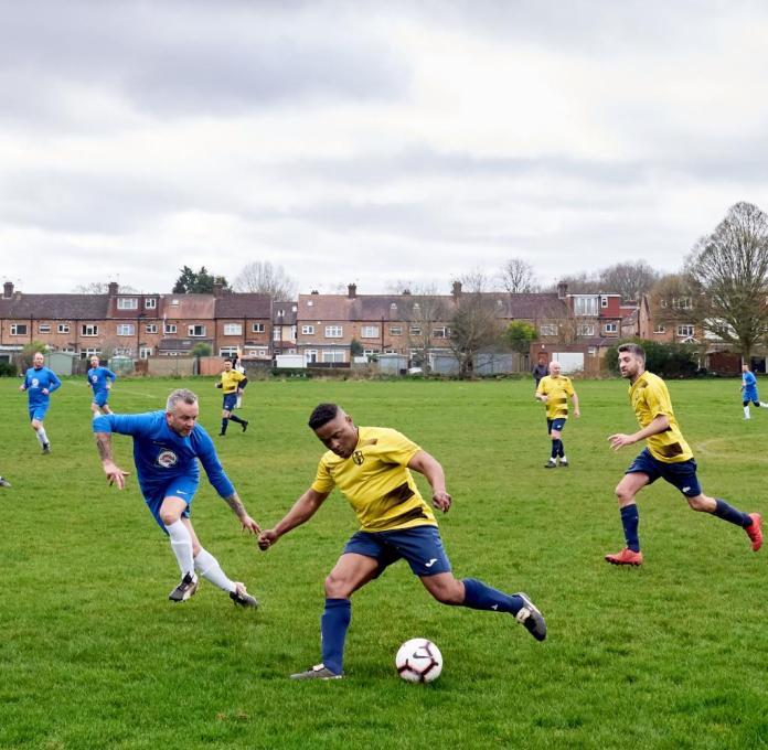 Coronavirus - amateur football player in England