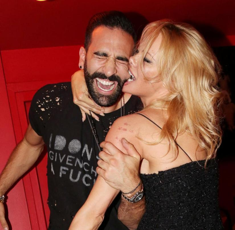 Wild relationship, intense separation, mud fight: Pamela Anderson and Adil Rami