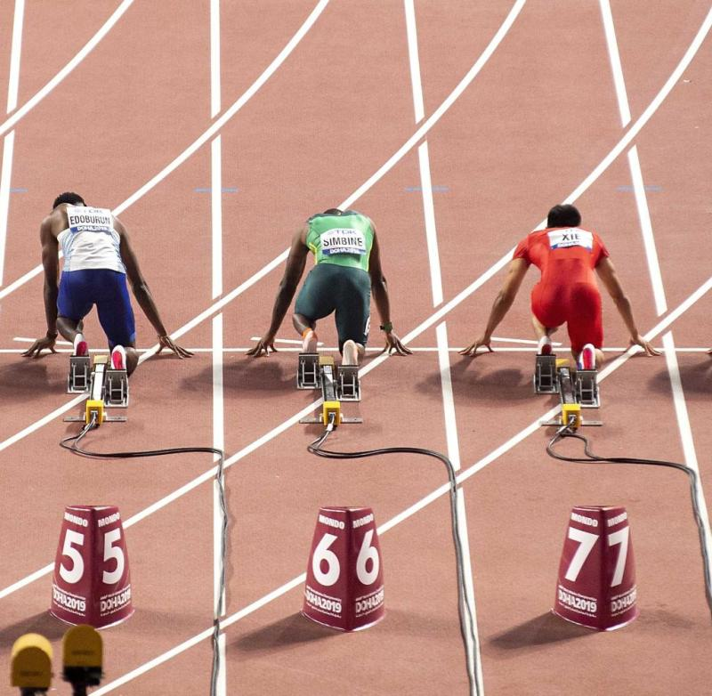 World Athletics Championships 2019 in Doha.