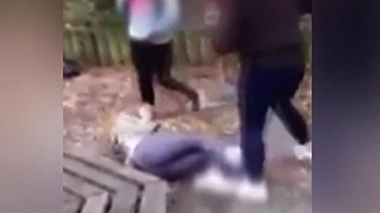 schock video madchen bande verprugelt wehrloses opfer video welt
