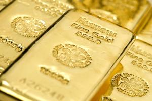 Blick auf einige 1000-Gramm-Goldbarren: Einige wenige Banken bestimmen über die Preissetzung
