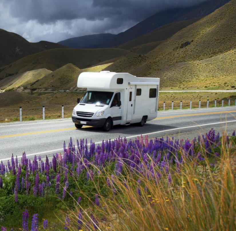 Summer travelling camper in NZ Getty ImagesGetty Images