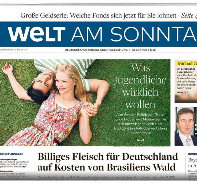 WELT AM SONNTAG from October 20, 2019