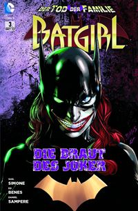 Batgirl #3 Comic Cover