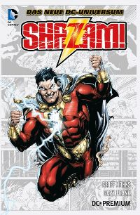 Shazam Comic Cover