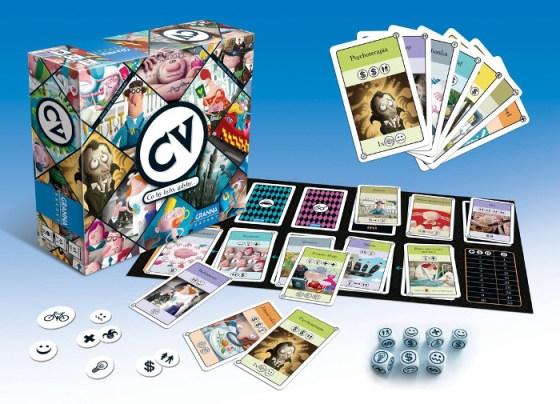 CV-Das wahre Leben Spielmaterial Rechte bei Granna/Heidelberger Spieleverlag.