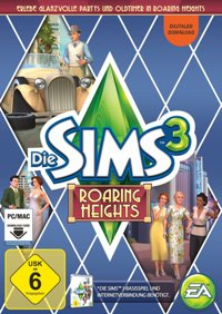Die Sims 3 - Roaring Heights Cover