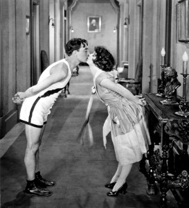 The College (1927) mit Buster Keaton und Anne Cornwall