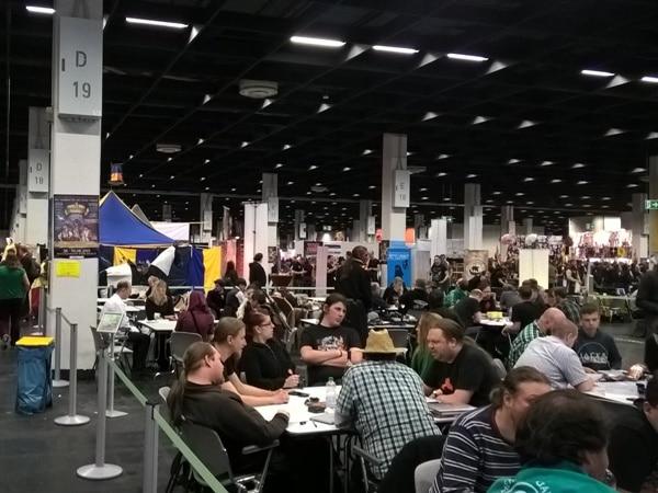 RPC 2015 Spielen in der Messehalle