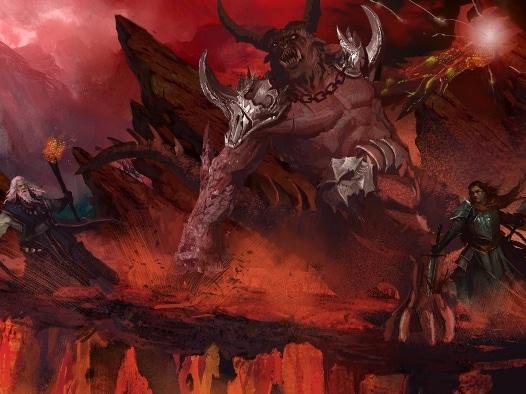Kampf gegen Dämonen