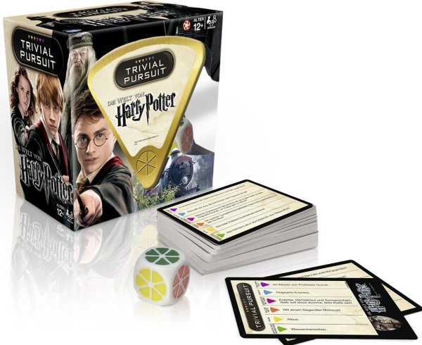 Trivial Pursuit - Harry Potter Sonderedition Inhalt