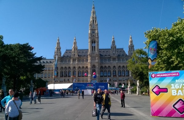 Game City @ Wiener Rathaus