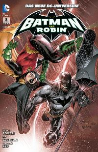 Comic Cover - Batman & Robin #8: Super-Robin, Rechte bei Panini Comics