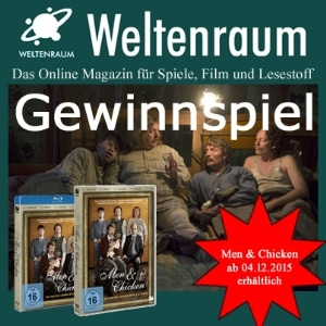 Gewinnspiel Men and Chicken