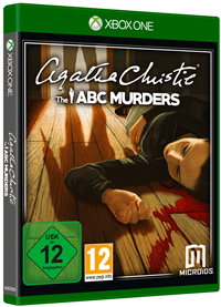 Xbox One Cover - Agatha Christie - The ABC Murders, Rechte bei Microïds