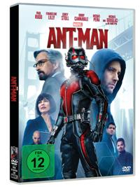 DVD Cover - Ant-Man, Rechte bei Disney © 2015 MARVEL
