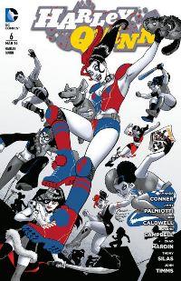 Comic Cover - Harley Quinn #6: Die Harley-Gang, Rechte bei Panini Comics