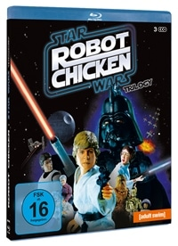 Blu-ray Cover - Robot Chicken: Star Wars Trilogy, Rechte bei Studio Hamburg