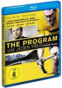 Blu-ray Cover - The Program - Um jeden Preis, Rechte bei Studio Canal