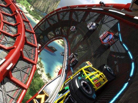 Eine der Rennstrecken - Trackmania Turbo, Rechte bei Ubisoft