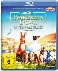 Blu-ray Cover - Watership Down - Unten am Fluss, Rechte bei Concorde