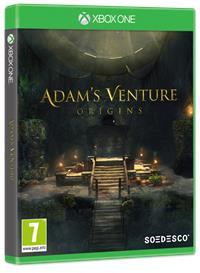 Xbox One Cover - Adam's Venture: Origins, Rechte bei Soedesco