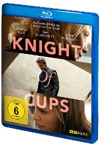 Blu-ray Cover - Knight of Cups, Rechte bei Studio Canal