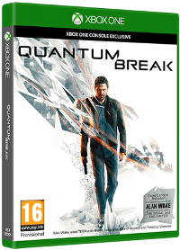 Xbox One Cover - Quantum Break, Rechte bei Microsoft Studios