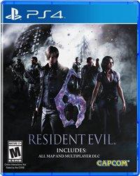 PS4 Cover - Resident Evil 6, Rechte bei Capcom