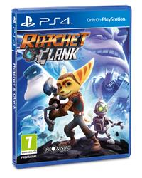 PlayStation 4 Cover - Ratchet & Clank, Rechte bei Sony PlayStation