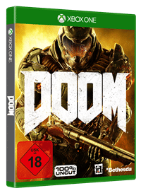 Xbox One Cover - Doom Rechte bei Bethesda Softworks