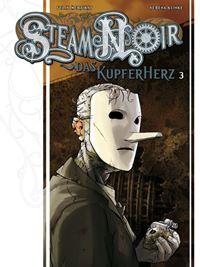 Comic Cover - Steam Noir: Das Kupferherz #3, Rechte bei cross cult