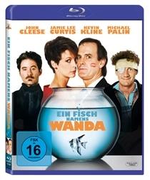 Blu-ray Cover - Ein Fisch namens Wanda, Rechte bei Twentieth Century Fox