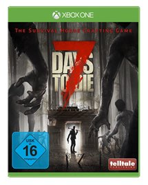 Xbox One Cover - 7 Days to Die, Rechte bei Telltale Publishing